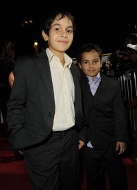 Christopher Ruiz-Esparza and Gerardo Ruiz-Esparza at the screening of