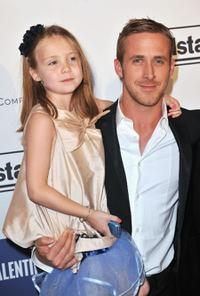 Faith Wladyka and Ryan Gosling at the France premiere of
