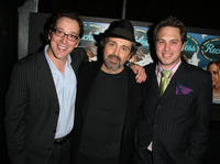 Jeremy Shamos, Craig Lucas and Thomas Sadoski at the after party of the opening night of