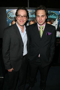 Jeremy Shamos and Thomas Sadoski at the after party of the opening night of