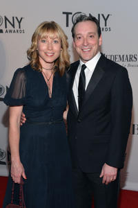 Jeremy Shamos and Guest at the 66th Annual Tony Awards.