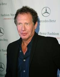 Garry Shandling at Mercedes Benz Fashion Week.