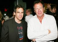 Ben Stiller and Garry Shandling at the after party of the premiere of