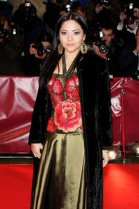 Teresa Ruiz at the Germany premiere of