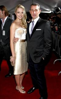 Teresa Palmer and Adam Shankman at the Los Angeles premiere of