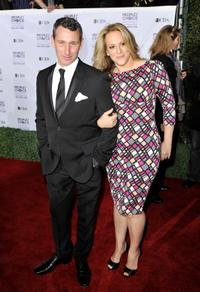 Adam Shankman and Guest at the 35th Annual People's Choice Awards.