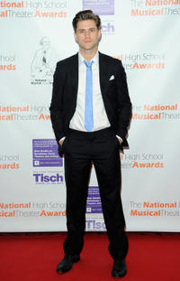 Aaron Tveit at the 2011 National High School Musical Theater Awards.