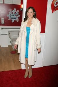 Molly Shannon at the opening of the Charmin public restrooms.