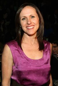 Molly Shannon at the Cynthia Rowley Fall 2007 fashion show during Mercedes-Benz fashion Week.
