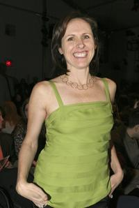 Molly Shannon at the Cynthia Rowley Fall 2006 fashion show during Olympus Fashion Week.