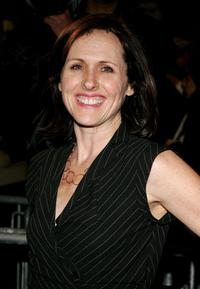 Molly Shannon at the play opening night of