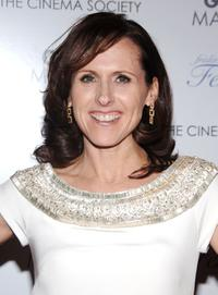 Molly Shannon at the Cinema Society and Frederic Fekkai special screening of