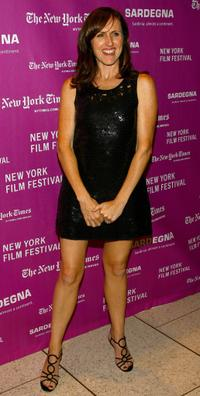 Molly Shannon at the New York Film Festival premiere of