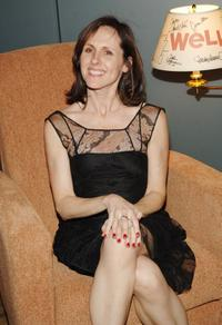 Molly Shannon at the Broadway opening of