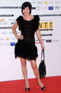 Delphine Chaneac at the 2009 Monte-Carlo Film Comedy Festival Cocktail party.