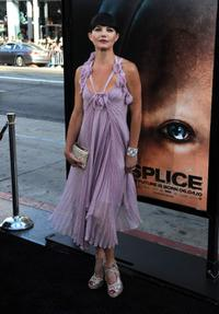 Delphine Chaneac at the California premiere of