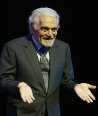Omar Sharif at the closing ceremony of Cairo's 30th International Film Festival.