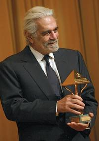 Omar Sharif at the ceremony held on the sidelines of the Cairo international film festival.