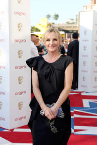 Lesley Sharp at the Arqiva British Academy Television Awards 2012 in England.