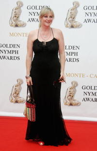 Lesley Sharp at the 2007 Monte Carlo Television Festival closing ceremony.
