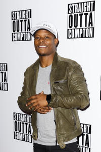 Jason Mitchell at the special screening of