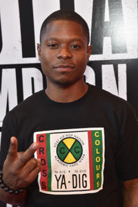 Jason Mitchell at the VIP screening of