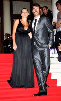 Luca Calvani and Guest at the Kineo Diamanti al Cinema Award Ceremony during the 65th Venice Film Festival.