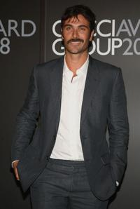 Luca Calvani at the Gucci Awards during the 65th Venice Film Festival.