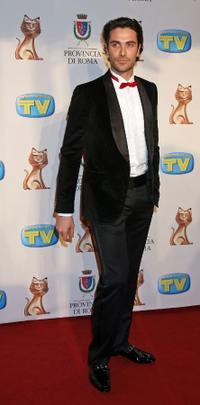 Luca Calvani at the Italian TV Awards