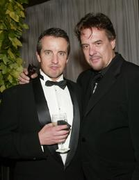 Grant Shaud and Robert Pastorelli at the cocktail party for the