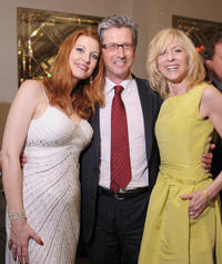 Rachel York, Charles Shaughnessy and Judith Light at the after party of the New York premiere of