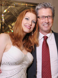 Rachel York and Charles Shaughnessy at the after party of the New York premiere of