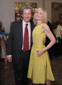 Charles Shaughnessy and Judith Light at the after party of the New York premiere of