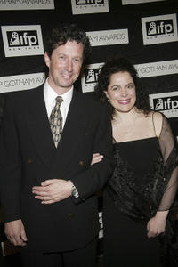Charles Shaughnessy and Wendy Sax at the 13th Annual IFP Gotham Awards in New York.