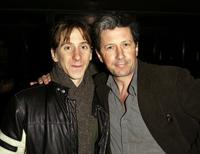 Luther Creek and Charles Shaughnessy at the after party of the closing of