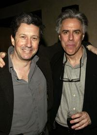 Charles Shaughnessy and Jeff McCarthy at the after party of the closing of