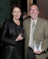 Fiona Shaw and James L Brooks at the Third Annual