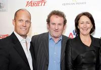 Charles Koones, Colm Meaney and Fiona Shaw at the Third Annual