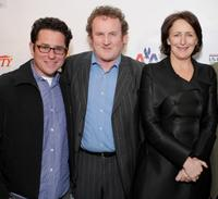 JJ Abrams, Colm Meaney and Fiona Shaw at the Third Annual