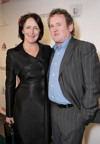 Fiona Shaw and Colm Meaney at the Third Annual