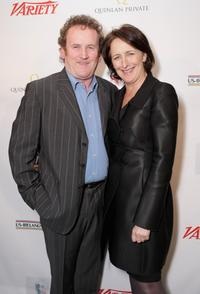 Colm Meaney and Fiona Shaw at the Third Annual