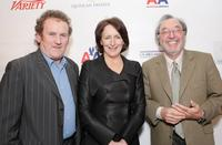 Colm Meaney, Fiona Shaw and Producer James L Brooks at the Third Annual
