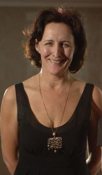Fiona Shaw at the Lawrence Olivier Theatre Awards.