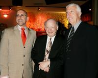 Scott Elliott, Wallace Shawn and Michael Mendelson at the spring benefit of