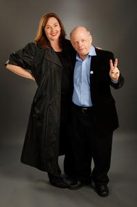 Nora Dunn and Wallace Shawn at the portrait studio during AFI FEST 2007.