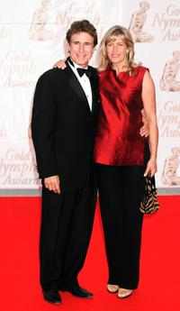 John Shea and his wife Melissa at the Gold Nymph awards ceremony.
