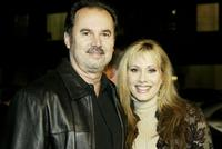 Van Fagan and Rhonda Shear at the premiere of