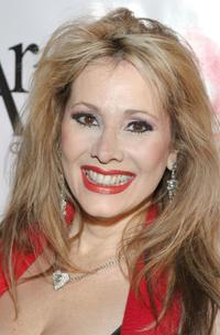 Rhonda Shear at the Red Party.