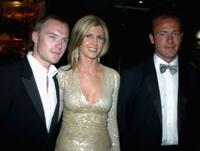 Ronan Keating, Yvonne Keating and Alan Shearer at the