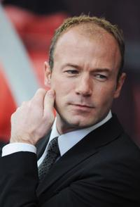 Alan Shearer at the Stoke City v Newcastle United - Premier League.